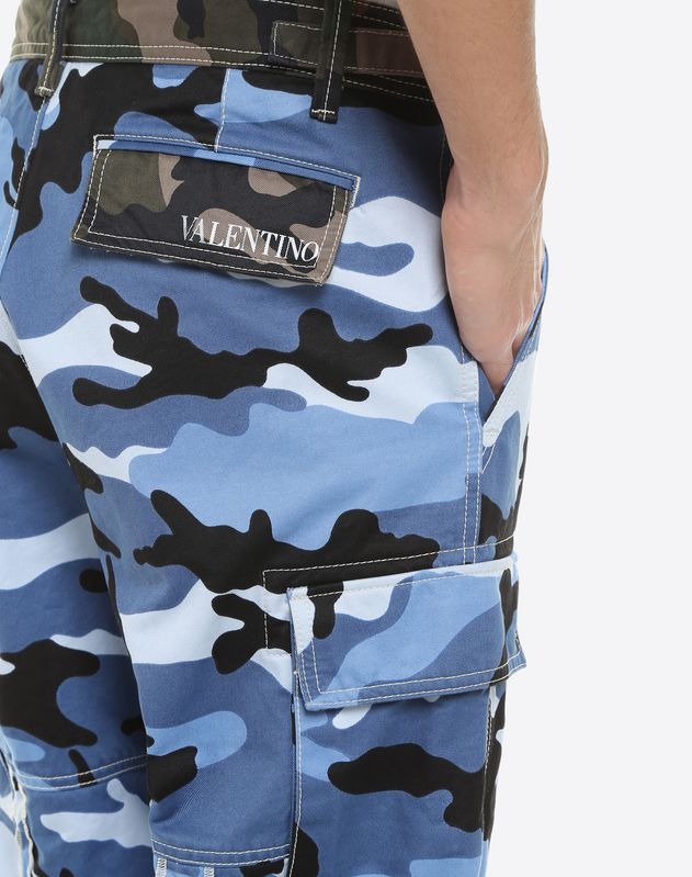 Camouflage combat trousers