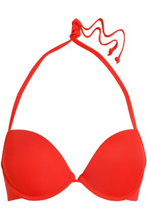 JUST CAVALLI BEACHWEAR Halterneck bikini top