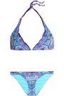 CAMILLA Printed triangle bikini
