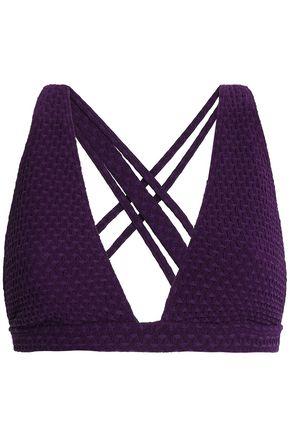 PRISM Jacquard balconette bikini top