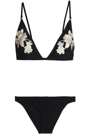 ZIMMERMANN Mesh-paneled bikini
