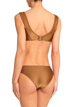 ZIMMERMANN Metallic bikini