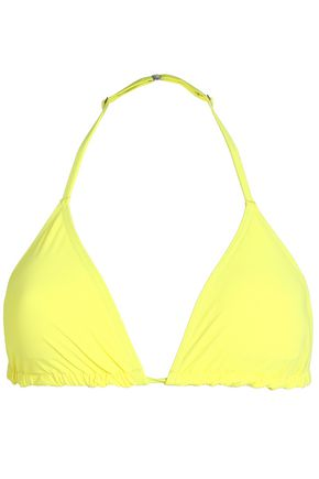 ORLEBAR BROWN Neon triangle bikini top