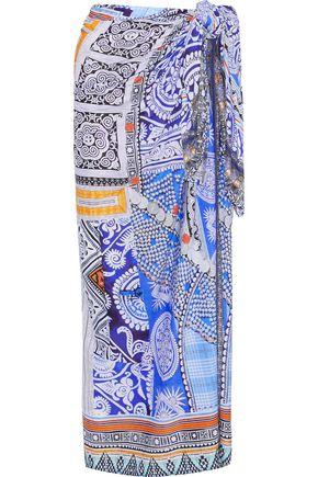 CAMILLA Printed knitted sarong