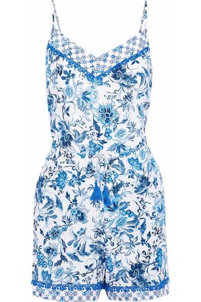 JETS AUSTRALIA by JESSIKA ALLEN Provence printed voile playsuit