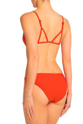 JETS AUSTRALIA by JESSIKA ALLEN Disposition ribbed triangle bikini top