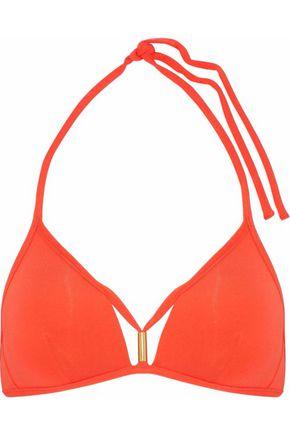 JETS AUSTRALIA by JESSIKA ALLEN Cutout halterneck bikini top