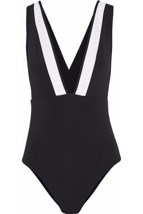 JETS AUSTRALIA by JESSIKA ALLEN Pleated swimsuit
