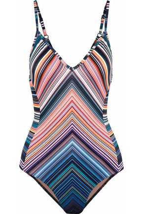 JETS AUSTRALIA by JESSIKA ALLEN Striped swimsuit
