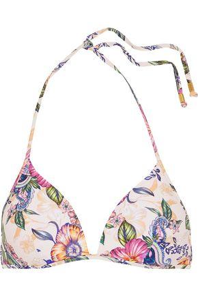 JETS AUSTRALIA by JESSIKA ALLEN Elegance floral-print triangle bikini top