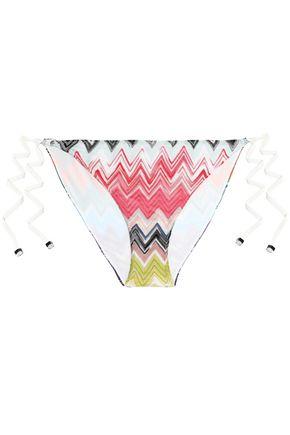 MISSONI MARE Mare crochet-knit mid-rise bikini briefs