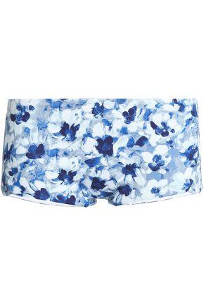 LA PERLA Floral-print high-rise bikini briefs
