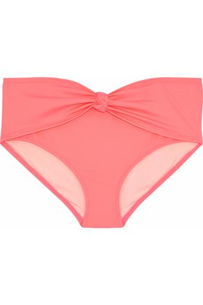 SOLID & STRIPED The Whitney knotted mid-rise bikini briefs