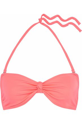 SOLID & STRIPED The Whitney knotted bikini top