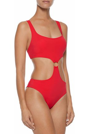 SOLID & STRIPED The Hailee cutout swimsuit