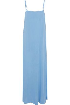 STAUD x SOLID & STRIPED Calico gauze maxi dress