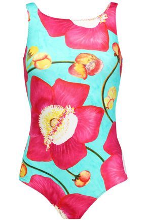 ISOLDA Floral-print swimsuit