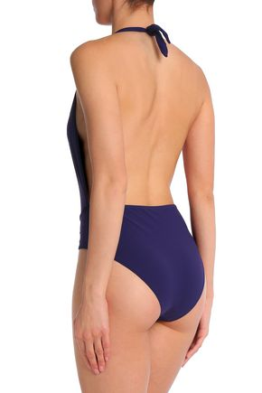 BOWER Halterneck swimsuit