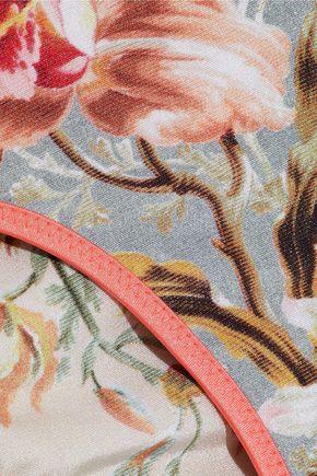 2dc9c8b186c3a Mercer reversible floral-print triangle bikini | ZIMMERMANN | Sale ...