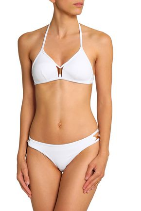 JETS AUSTRALIA by JESSIKA ALLEN Cutout embellished low-rise bikini briefs