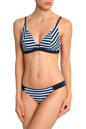 JETS AUSTRALIA by JESSIKA ALLEN Striped triangle bikini top