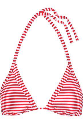 SEAFOLLY Striped triangle bikini top