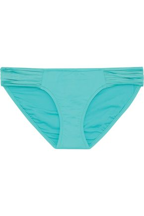 SEAFOLLY Hipster pleated low-rise bikini briefs