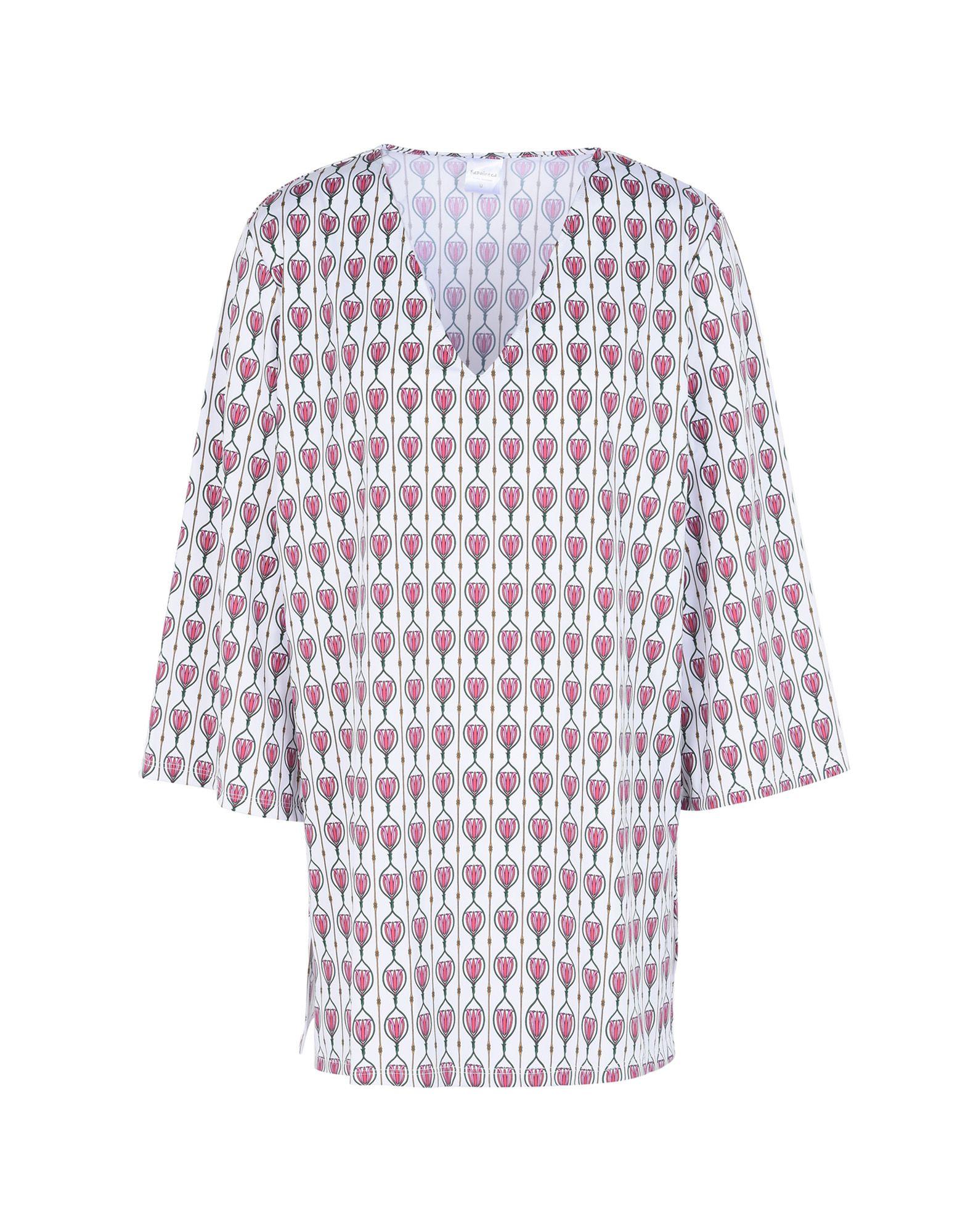 《送料無料》REPAINTED レディース ビーチドレス ホワイト one size 再生ポリアミド 78% / ポリウレタン 22% Nancy Caftan