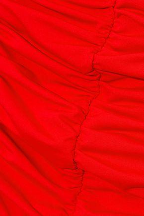 DEREK LAM 10 CROSBY Ruched swimsuit