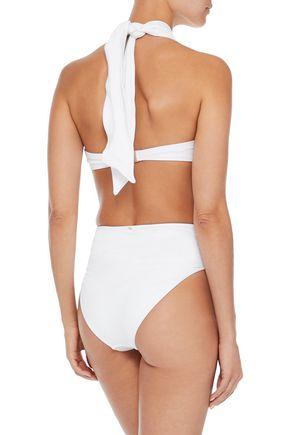 DEREK LAM 10 CROSBY Knotted high-rise bikini briefs