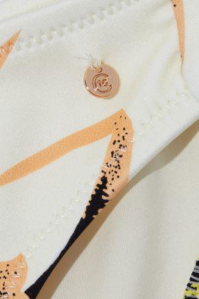 DEREK LAM 10 CROSBY Printed low-rise bikini briefs