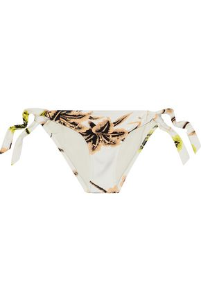 DEREK LAM 10 CROSBY Printed low-rise bikini briefs