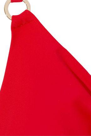 DEREK LAM 10 CROSBY Triangle bikini top