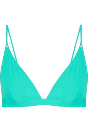 ACNE STUDIOS Hedea triangle bikini top