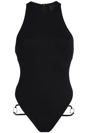 CUSHNIE Cutout swimsuit