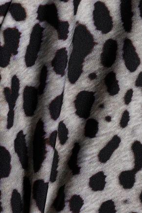 VIX PAULA HERMANNY Lace-up printed swimsuit