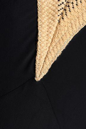 VIX PAULA HERMANNY Woven-trimmed swimsuit