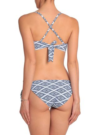 TART COLLECTIONS Ensley knotted printed bikini
