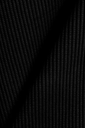 TART COLLECTIONS Brynn lattice-trimmed high-rise bikini