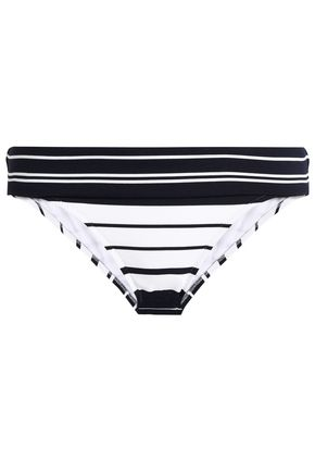 HEIDI KLEIN Striped low-rise bikini briefs