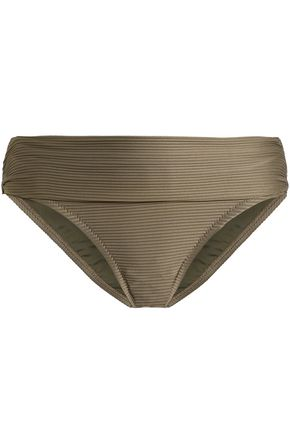 HEIDI KLEIN Ribbed low-rise bikini briefs