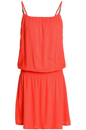 HEIDI KLEIN Gathered jersey mini dress