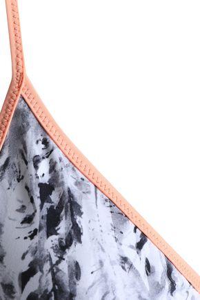 HEIDI KLEIN Printed triangle bikini top