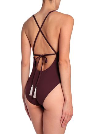 SKIN Open-back swimsuit