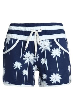PERFECT MOMENT Printed shell shorts