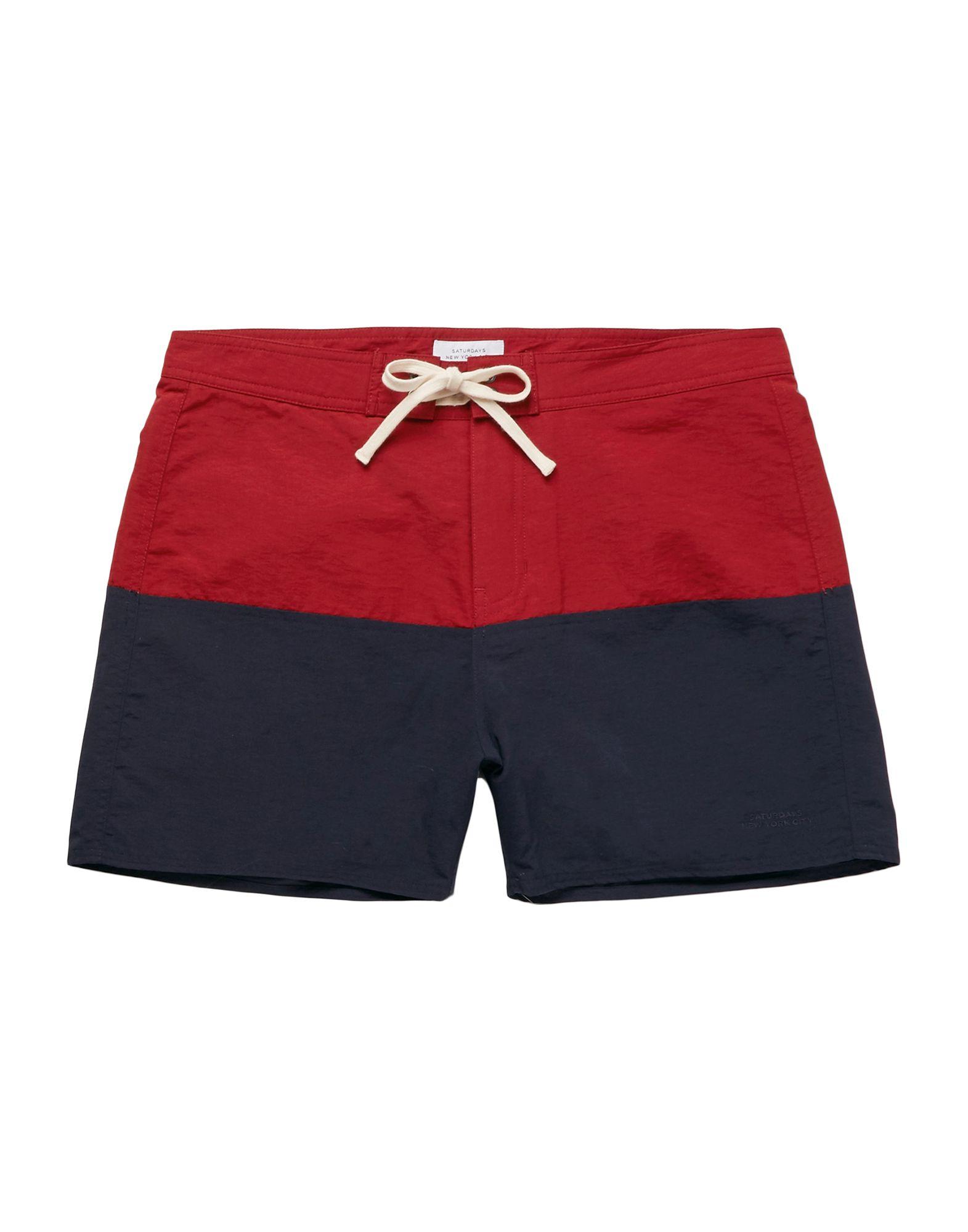 SATURDAYS NEW YORK CITY Пляжные брюки и шорты saturdays new york city пляжные брюки и шорты