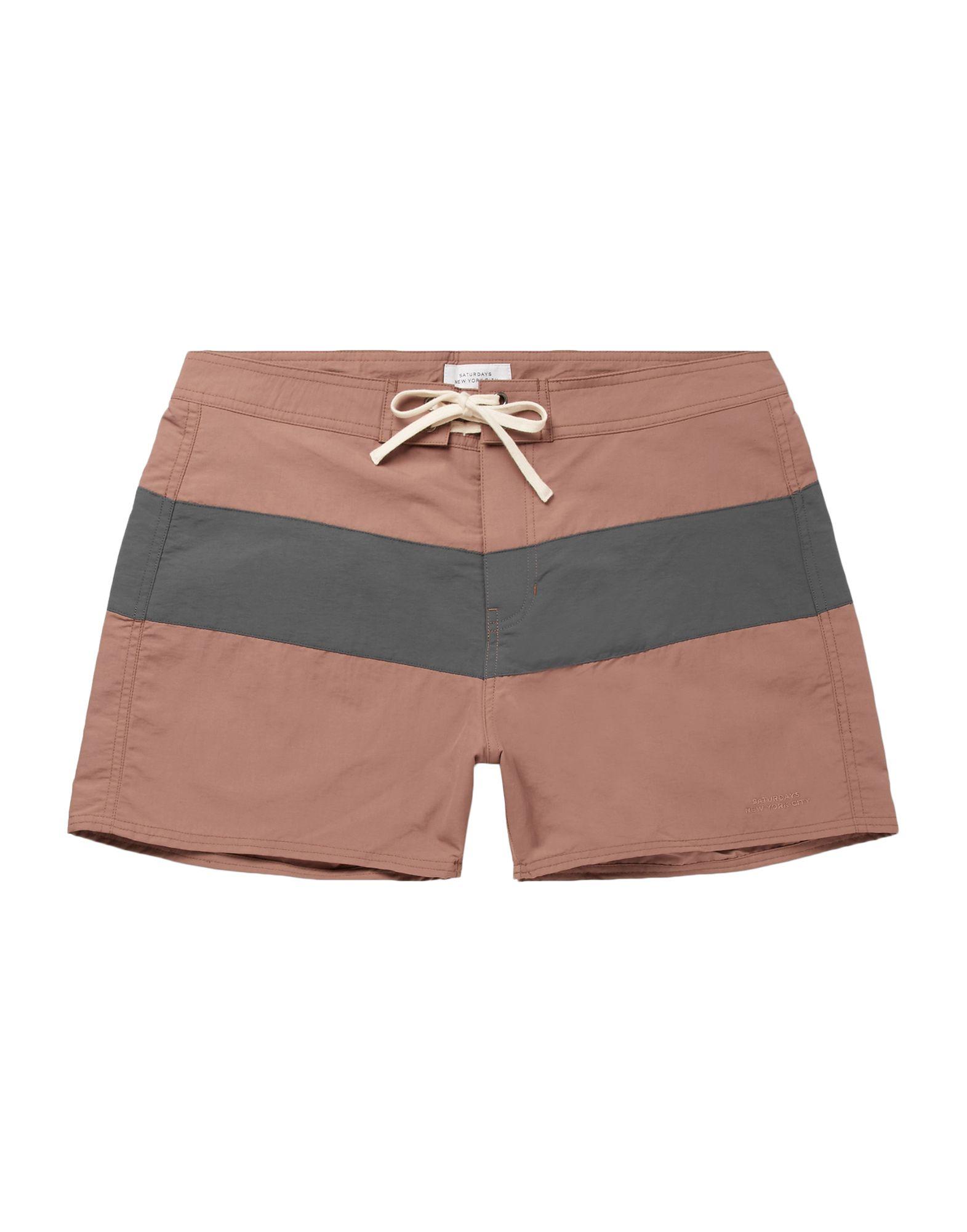 SATURDAYS NEW YORK CITY Пляжные брюки и шорты цены онлайн