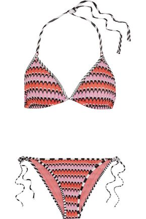 MISSONI MARE Mare crochet-knit triangle bikini
