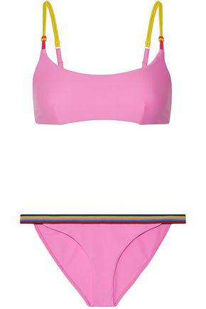 RYE Dazzle striped bikini
