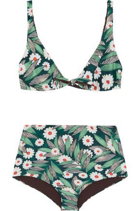 MARA HOFFMAN Printed bikini